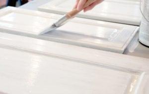 Malermester Sorø, maling af låge